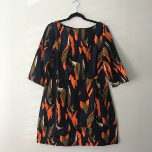 COS printed cotton canvas dress